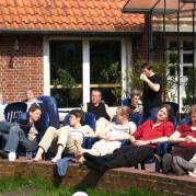 Sonnenpause in Albstedt